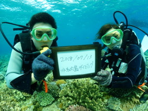 水納島体験ダイビング